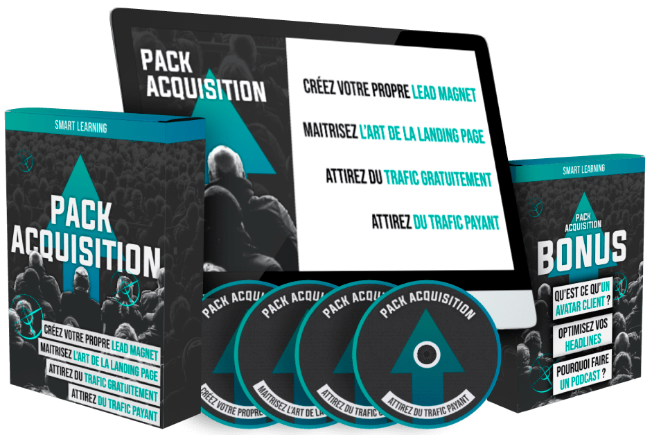 Smart Learning APC : Pack N°1 Acquisition de trafic