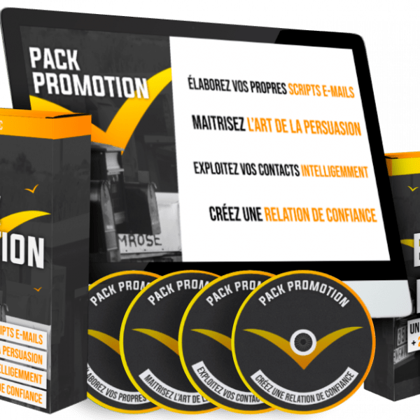 Smart Learning APC : Pack N°2 Promotion d'une offre